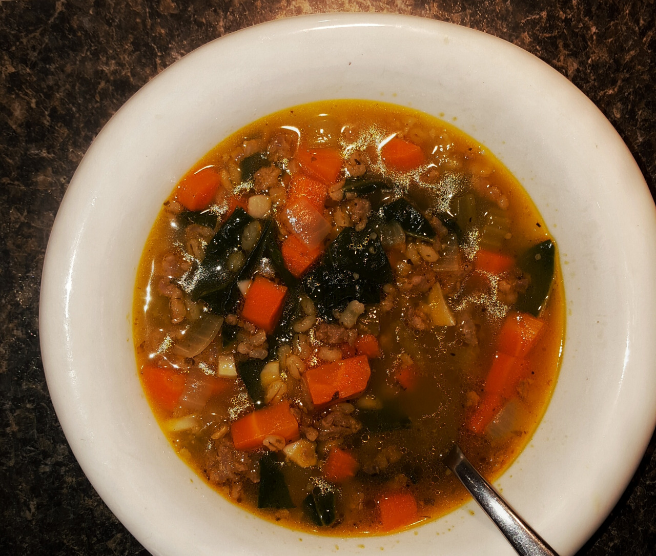 "Calgary Foodie ""Scavenger Hunt"" (Kale And Sausage Soup)"